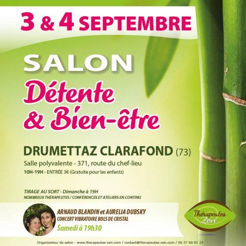 Salon du bien-être à Drumettaz !